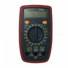 DT33A LCD Handheld Digital Multimeter for Home and Car - Gray