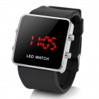 Stylish Digital LED Wrist Watch - Black (1*BI2025)