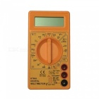 DT832 LCD Handheld Digital Multimeter for Home and Car - Yellow