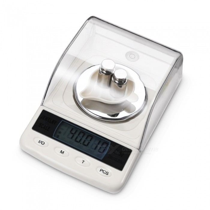 KL-50 50g / 0.001g 1.8 High Precision Diamond Jewelry Scale with Weights - White (4 x AAA)Digital Scales<br>ColorwhiteModelKL-50Quantity1 setMaterialABSTypeJewelry Scale,Others,Diamond Scale/Carat ScaleScreen Size1.8 inchesMax. Weight50gMin. Weight0.001gUnitg,ct,oz,dwt,gnDivision0.001gAuto Power OffNoPowered ByAAA BatteryBattery Number4Battery included or notYesPacking List1 x Electronic scale4 x AAA batteries2 x Weights1 x weighing pan1 x English manual<br>