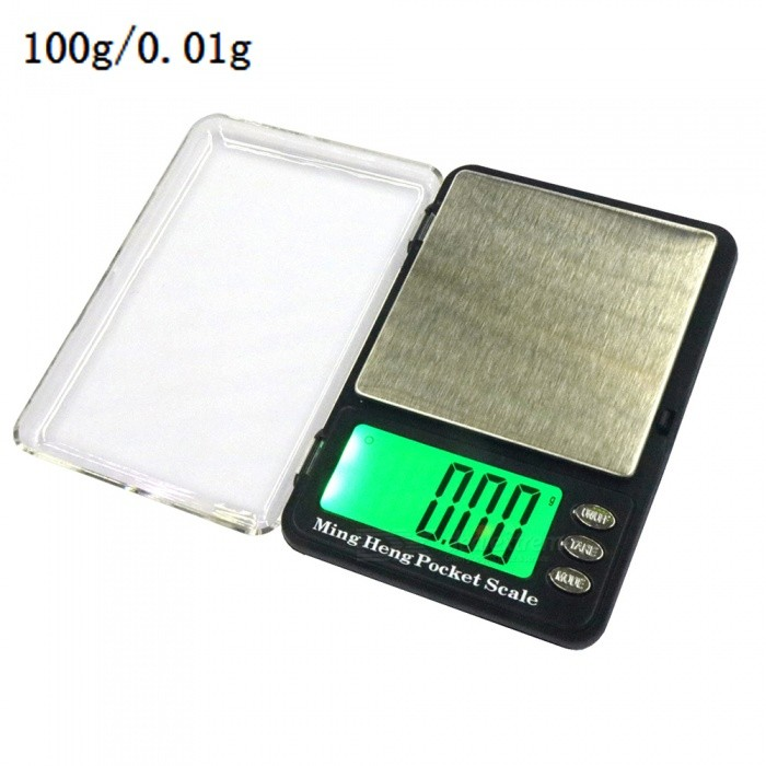 100g/0.01g 2.2 LCD Display High-Precision Electronic Scale (2 x AAA)Digital Scales<br>Application100gModel339Quantity1 setMaterialStainless steel + plastic ABSTypePortable Scale,Jewelry ScaleScreen Size2.2 inchesMax. Weight100gMin. Weight0.01gUnitg,kg,ct,lb,ozDivision0.01gAuto Power OffNoPowered ByAAA BatteryBattery Number2Battery included or notYesPacking List1 x Electronic scale2 x AAA batteries1 x Instruction<br>