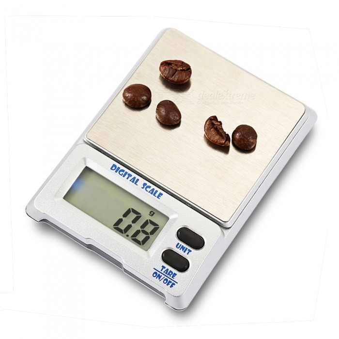 M-18 500g / 0.1g 1.5 Precision Electronic Gold Jewelry Measuring Scale (2 x AAA)Digital Scales<br>Application500g/ 0.1gModelM-18Quantity1 setMaterialStainless steel + aluminum alloyTypePortable Scale,Jewelry ScaleScreen Size1.5inchesMax. Weight500gMin. Weight0.1gUnitg,ct,oz,dwt,gnDivision0.1gAuto Power OffNoPowered ByAAA BatteryBattery Number2Battery included or notYesPacking List1 x Electronic scale2 x AAA batteries1 x Instruction1 x Box<br>