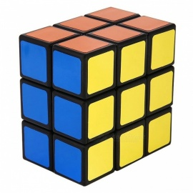 QiYi LanLan 2x3x3 Speed Smooth Magic Cube, Finger Puzzle Toy 38x57x57mm