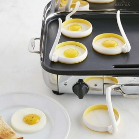 Creative Circle Round Shaped Fried Egg Mold Egg Cooking Tools Kitchen Gadgets - 2PCS