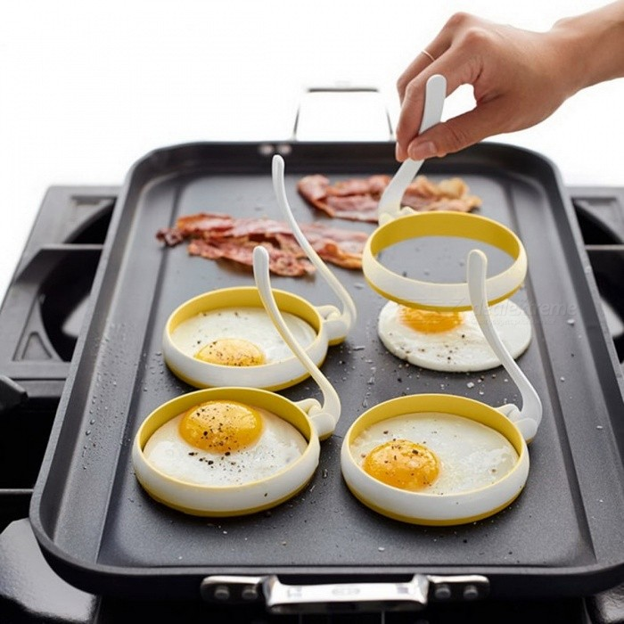 Creative Circle Round Shaped Fried Egg Mold Egg Cooking ...