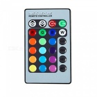 YWXLight E14 3W RGB Dimmable Remote-Controlled Decorative Candle Bulb AC 85-265V