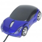 Car Style USB 2.0 Optical Mouse - Color Assorted (90cm-Cable)