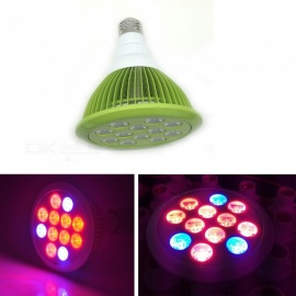 ZHAOYAO E26 E27 LED Plant Growth Light 12W Greenhouse Vegetable Light - Green (AC 100~240V)