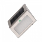YWXLight Outdoor LED Solar Powered Energy Light, Sun Power Waterproof Path Street Stair Wall Lamp - Cold White