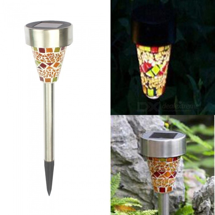 ZHAOYAO Waterproof Solar Powered Lawn Lamp for Outdoor Garden Landscape Decoration - OrangeLandscape Lamps<br>ColorOrangeModela11MaterialStainless steel, plasticQuantity1 setWaterproof LevelIP44PowerOthers,-Rated VoltageOthers,1.2 VChip BrandOthers,-Emitter TypeLEDActual Lumens- lumensColor BINWhiteColor Temperature5000DimmableNoBeam Angle360 °Installation TypeOthers,-Packing List1 x Lamp<br>