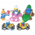 The Smurfs PVC Figures Set (5-Piece Set/Assorted)
