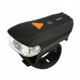 XP-G LED Portable Small 4-Mode Intelligent Bicycle Light Lamp for Night Riding - Black