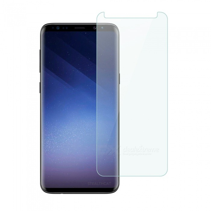 Dayspirit Tempered Glass Screen Protector for Samsung Galaxy S9+, S9 PlusScreen Protectors<br>ColorTransparentModelN/AMaterialTempered glassQuantity1 setCompatible ModelsSamsung Galaxy S9+FeaturesTempered glassPacking List1 x Tempered glass screen protector1 x Dust cleaning film 1 x Alcohol prep pad<br>