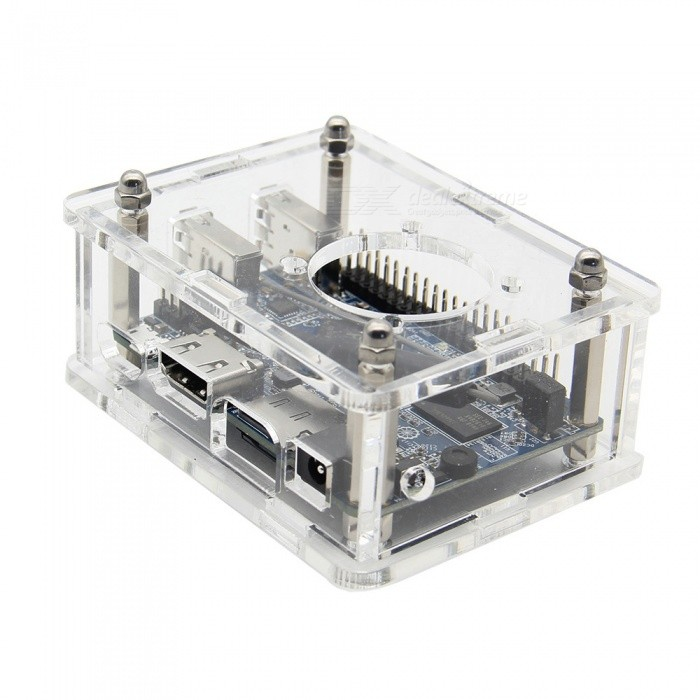 Geekworm Luxurious Acrylic Case Protective Enclosure for Orange Pi Lite - Transparent