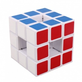 qiyi lanlan hollow speed cube liscio magic cube finger puzzle giocattolo 57mm