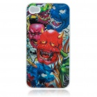 Protective Plastic Back Case with 4D Dynamic Graphic for Iphone 4 - Devil