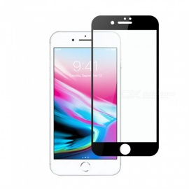 dayspirit gehard glas screen protector voor IPHONE 7, IPHONE 8 - zwart