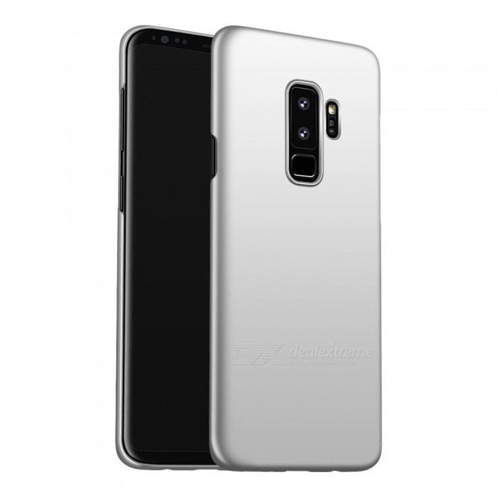 Naxtop PC Hard Protective Back Case for Samsung Galaxy S9+ - SilverPlastic Cases<br>ColorSilverModelN/AMaterialPCQuantity1 pieceShade Of ColorSilverFeaturesAnti-slip,Dust-proof,Shock-proof,Abrasion resistanceCompatible ModelsSamsung Galaxy S9+Packing List1 x Case<br>