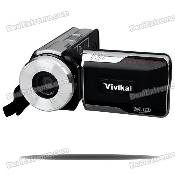 "5.1MP CMOS Digital Video Camcorder w/ 8X Digital Zoom/SD Slot (3.0"" TFT LCD)"