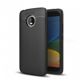 Dayspirit Lichee Pattern TPU Case for Moto G5 - Black