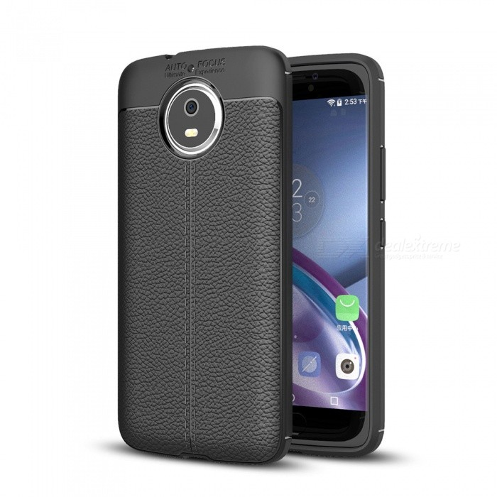 Dayspirit Lichee Pattern TPU Case for Moto G5s - BlackTPU Cases<br>ColorBlackModelN/AMaterialTPUQuantity1 pieceShade Of ColorBlackCompatible ModelsMoto G5sPacking List1 x Case<br>