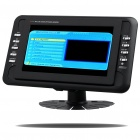 "Portable 7"" Wide Screen DVB-T LCD Monitor with AV In/Out + SD Slot (PAL/SECAM/NTSC)"