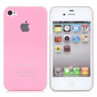 Protective Matte Backside Case for iPhone 4 - Pink