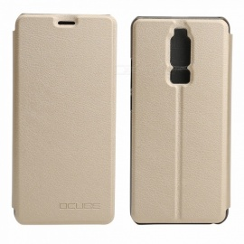 OCUBE Protective Flip-open PU Leather Case for Leagoo S8  5.7 Inches - Golden