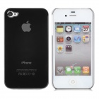 Protective Matte Backside Case for iPhone 4 - Black