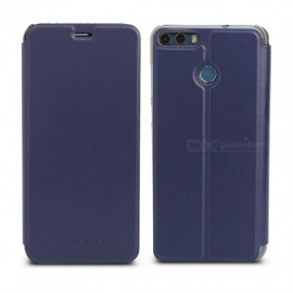 OCUBE Protective Flip-open PU Leather Case for Ulefone Mix 2 5.7 Inches - Blue