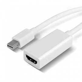mini displayport a adaptador HDMI para apple macbook - negro
