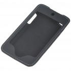 Protective PU Leather Case with Clip for Ipod Touch 4