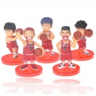 Slam Dunk Figures Set with Display Base (5-Piece Set/Assorted)