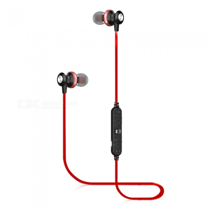 85af7cdd182 AWEI B980BL Sport Bluetooth Magnetic In-Ear Earphone with Microphone - Red  - Free shipping - DealExtreme