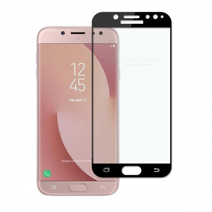 Dayspirit Tempered Glass Screen Protector for Samsung Galaxy J7 (2017) (EU), J730 - BlackScreen Protectors<br>ColorBlackModelN/AMaterialTempered glassQuantity1 setCompatible ModelsSamsung Galaxy J7 (2017) (EU) ,J730FeaturesTempered glassPacking List1 x Tempered glass screen protector1 x Dust cleaning film 1 x Alcohol prep pad<br>