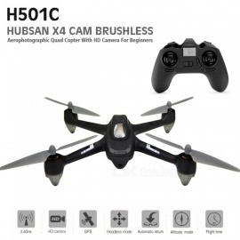 Hubsan X4 H501C Brushless RC Drone Quadcopter RTF with 1080P HD Camera, GPS, Altitude Hold Mode (EU Plug)