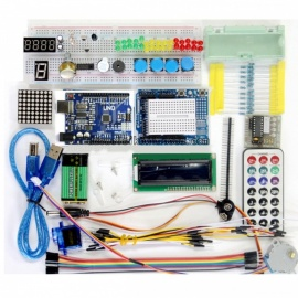 UNO R3 breadboard advance kit voor arduino