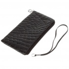 Quality Protective PU Leather Case with Strap for Cellphone