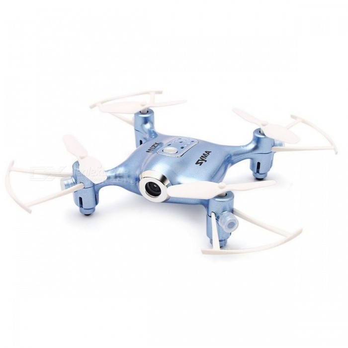 SYMA X21W WIFI FPV 4CH 6 Aixs Gyro RC Quadcopter RTF with Altitude Hold Mode - BlueR/C Airplanes&amp;Quadcopters<br>ColorBlueModelX21WMaterialPlasticQuantity1 setGyroscopeYesChannels Quanlity4 channelFunctionOthers,3D rollover,Forward/backward,One Key Landing,One Key Taking Off,Sideward flight,Slow down,Speed up,Turn left/right,Up/downRemote TypeRadio ControlRemote control frequency2.4GHzRemote Control Range25 mSuitable Age 12-15 years,Grown upsCameraYesCamera Pixel0.3MPLamp YesBattery TypeAABattery Capacity380 mAhCharging Time90 minutesWorking Time5 minutesRemote Controller Battery TypeAARemote Controller Battery Number4 x 1.5V AA battery(not included)Remote Control TypeWirelessModelMode 2 (Left Throttle Hand)Packing List1 x Drone ( Battery Included )1 x Transmitter1 x Mobile Phone Holder1 x USB Cable1 x Screwdriver4 x Spare Propeller1 x English User Manual<br>