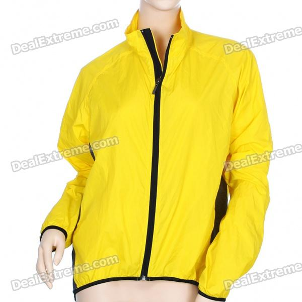 Windproof Jacket Coat with Small Gadgets Bag (Size XL)