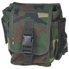Camouflage Brown Canvas Waist Bag/Shoulder Bag