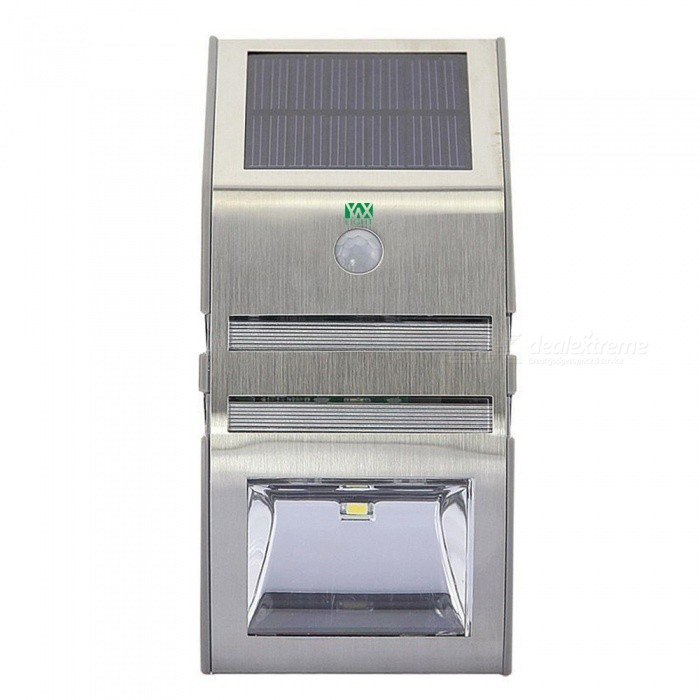YWXLight Waterproof 2-LED Solar Powered PIR Motion Sensor Lamp Garden Yard Outdoor Wall Pathway Warm White LightSolar Lamps<br>Emitting ColorWarm WhiteMaterialABSQuantity1 setWaterproof LevelIP65Emitter TypeLEDPower3 WWorking Voltage   DC 6 VLumens300 lumensPacking List1 x YWXLight Lamp1 x User Manual<br>