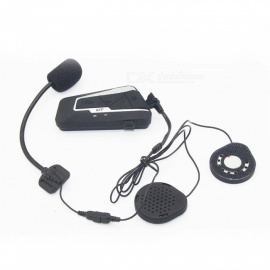 Multi-functional Waterproof Bluetooth Helmet Walkie Talkie, Safe Cycling Hands-free Phone Headset
