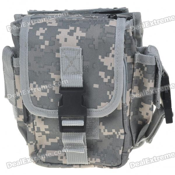 Camouflage Canvas Waist Bag/Shoulder Bag