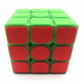 Portable Advanced Lightweight Fiber Lighted Luminous Rubik's Magic IQ Cube