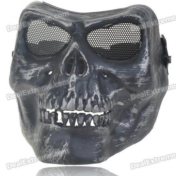 Skull Head Mask with Elastic Strap