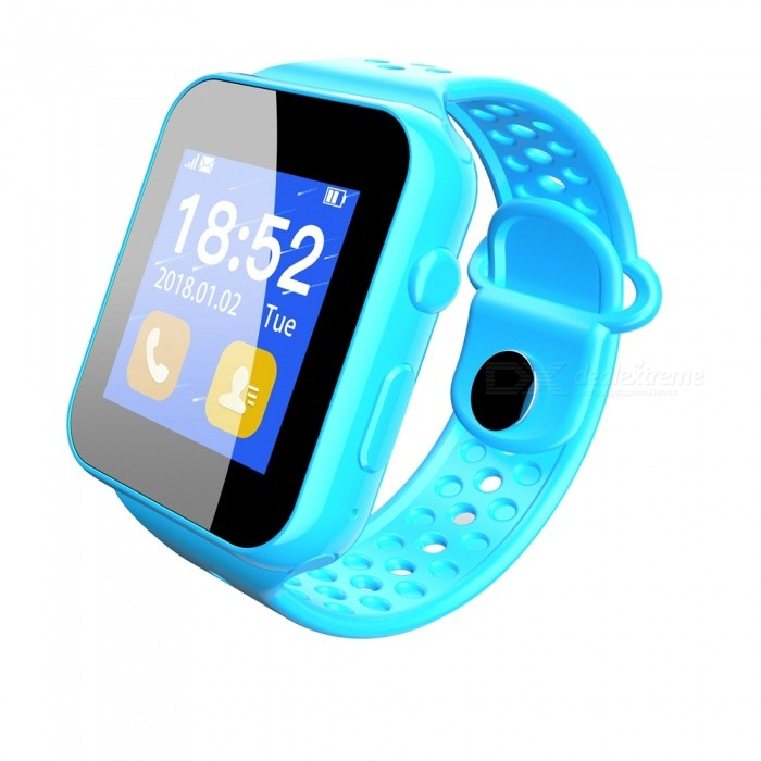 1.44 inch TFT Bluetooth V3.0 Smart Phone Watch with SIM Slot Pedometer Sleep Monitoring - BlueSmart Watches<br>ColorblueQuantity1 pieceMaterialABSCPU ProcessorMTK6261DScreen Size1.44 inchScreen Resolution128*RGB*128Touch Screen TypeYesBluetooth VersionBluetooth V3.0Compatible OSAndroid 5.0 and above systemLanguageEnglishWristband Length22 cmWater-proofIP67Battery ModeNon-removableBattery TypeLi-polymer batteryBattery Capacity280 mAhStandby Time5-7 daysPacking List1 x Smart watch1 x Charging cable1 x User Manual<br>
