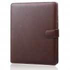Protective PU Leather Case for   Ipad - Brown