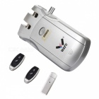 WAFU WF-010U Wireless Smart Door Lock, Invisible Remote Lock Operated by APP Through Bluetooth/Remote Keys - Silver