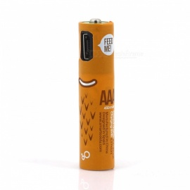 Micro USB Rechargeable AAA Battery - 4PCS